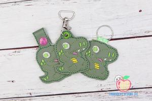 Baby Dragon ITH Key Fob Pattern