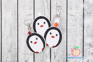 Cartoon Standing Penguin Keyfob Keychain ITH